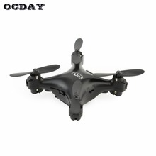 S26 Mini Quadcopter Drone Without Camera Remote Control For Kids LED Light Black Indoor Outdoor Flying fz