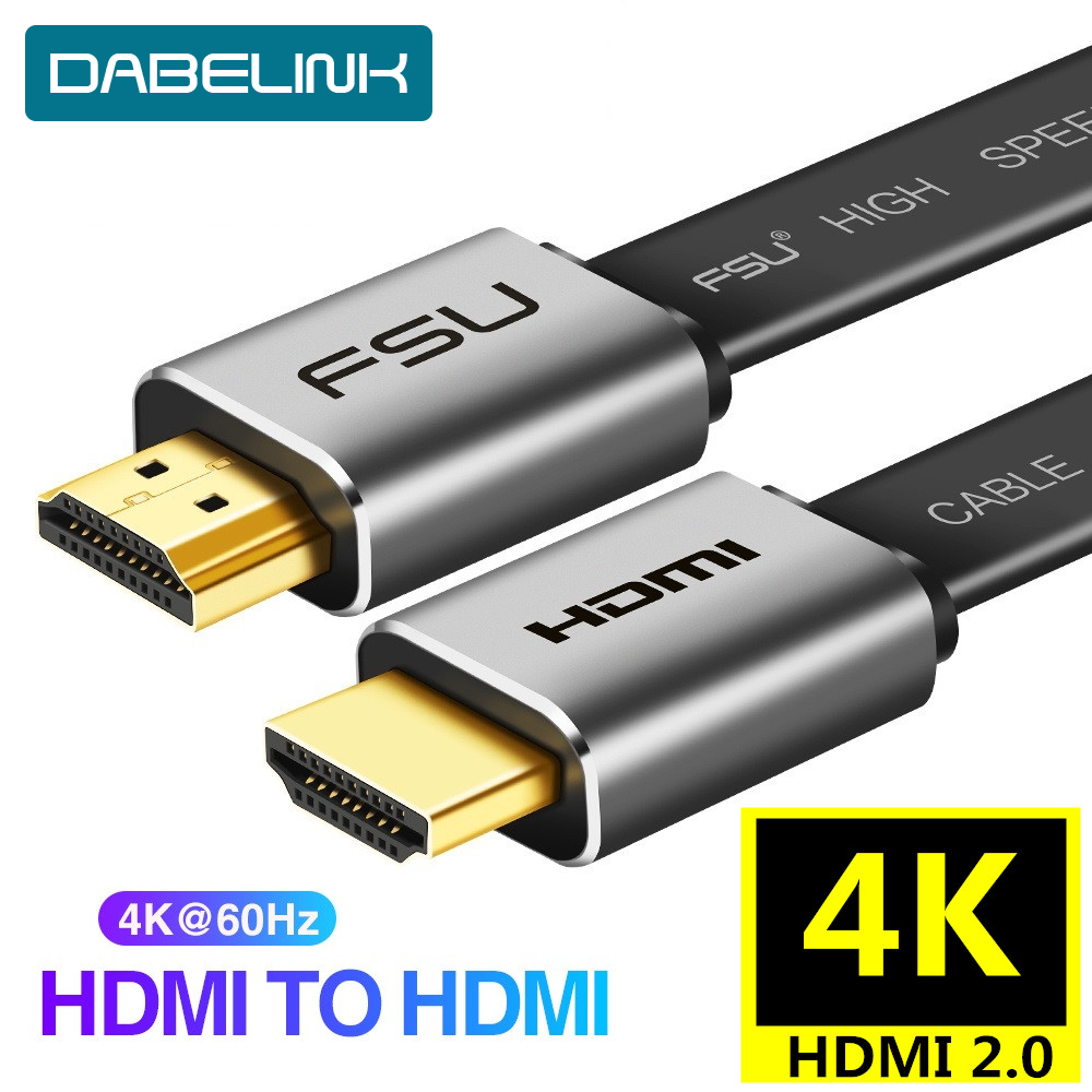 HDMI 2.0 Cable 4K 60Hz Cable Splitter Switch HDCP 2.2 HDMI To HDMI For Sony HDMI Monitor PC PS3 4 Projector HD TV  3m 5m 10m 15m