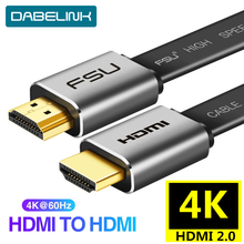 HDMI 2.0 4K 60Hz สาย Splitter HDCP 2.2 HDMI TO HDMI สำหรับ Sony HDMI PC Monitor PS3 4 โปรเจคเตอร์ HD TV 3 M 5 M 10 M 15 M(China)
