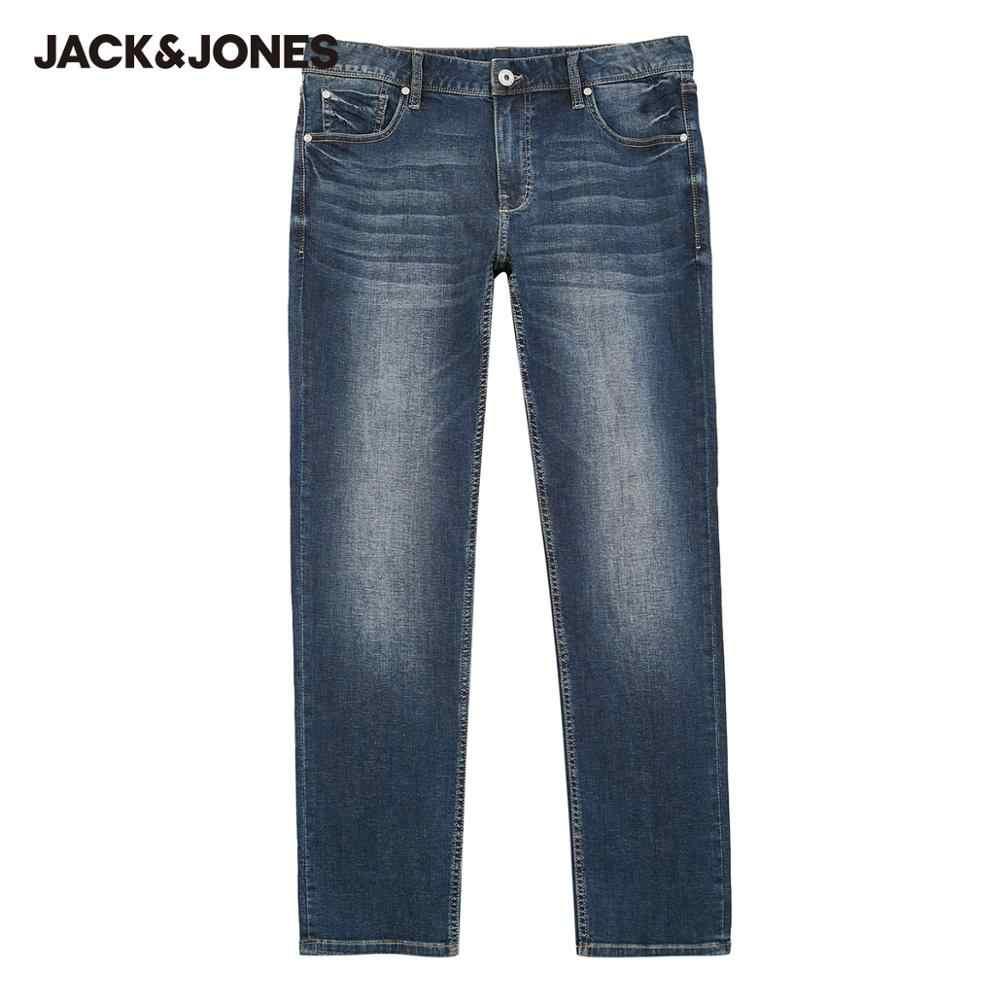 JackJones Respirabili degli uomini Slim Fit Casual Stretch Jeans di Abbigliamento Maschile | 220132568