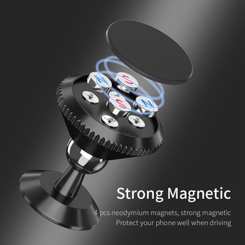 FPU Magnetic Car Phone Holder Stand For iPhone 11 Pro Max Magnet Mount Car Holder For Phone in Car Cell Mobile Phone Support GPS 1