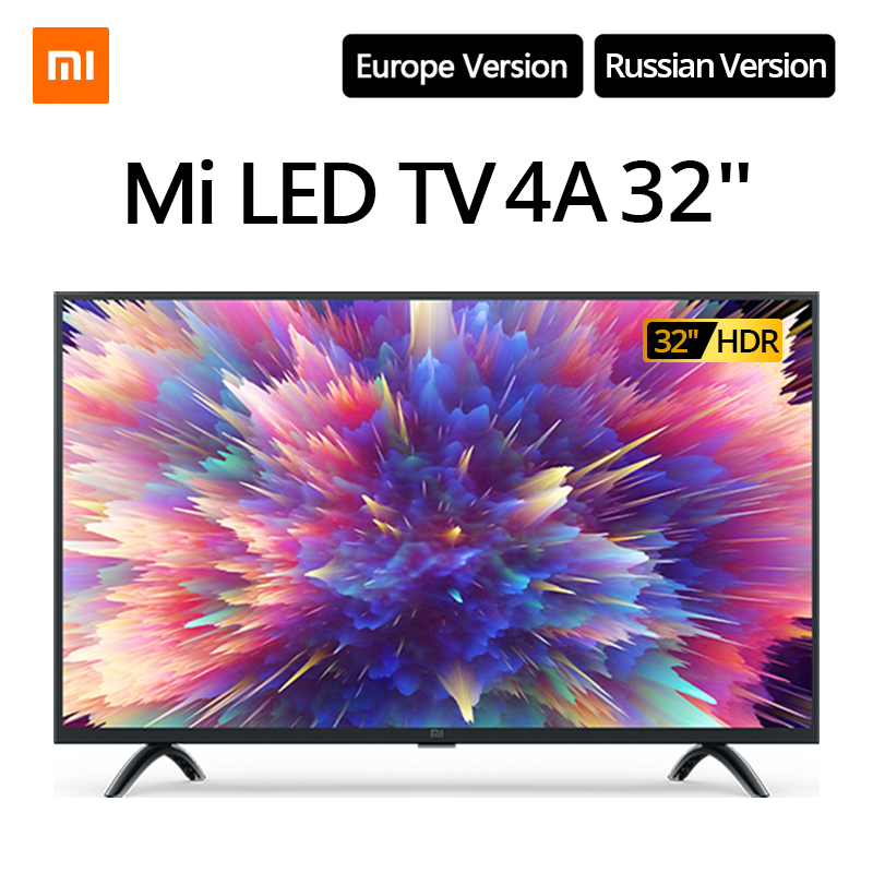Xiaomi TV smart TV 4A 32 дюйма 1,5G + 8G поддержка хранения miracast DVB-T2 + C/S2 intellgent LED TV