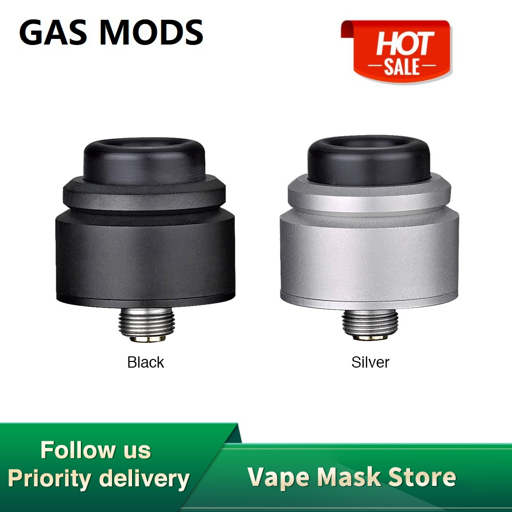Original GAS MODS NOVA RDA 22mm Diameter With BF Pin For Squonker MOD E-cig Vape 22mm RDA Vs Zeus X/ Loop Rda /  Drop Dead