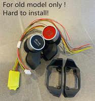 Interruptor de inicio para volante deportivo MQB, modo de conducción TT TTS R8, botón de inicio y parada del motor