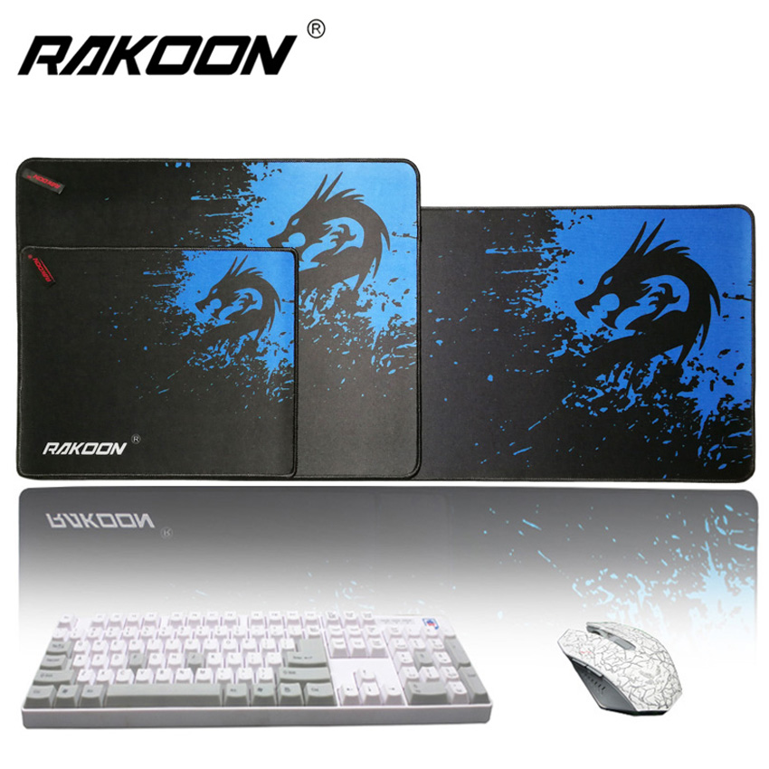 Rakoon Large Gaming Mouse Pad for gamer Locking Edge Mousepad PC Laptop Computer Mouse Mat for CS GO League of legends Dota