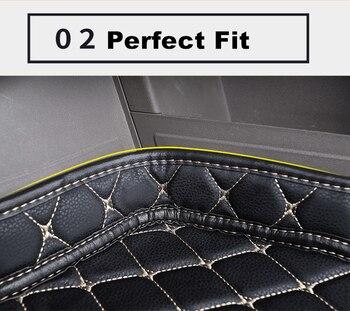SJ haut côté étanche voiture coffre tapis AUTO queue botte plateau Liner Cargo arrière coussinet pièces accessoires pour Mazda CX3 2017 2018 2019