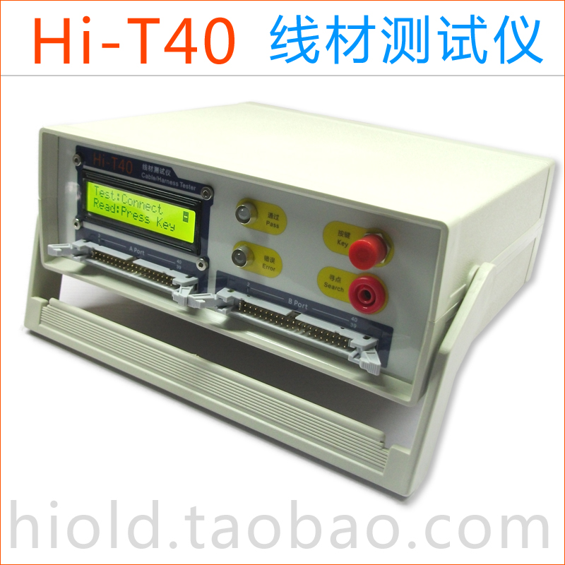 Hi-T40 Wire Tester Cable USB On-off Short-circuit Misalignment Detector