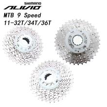 Shimano Alivio M4000 HG400 9 9 Speed Bike Cassette MTB mountain bicycle freewheel HG400 9S 11 32T 11 34T 11 36T 32t 34t 36t