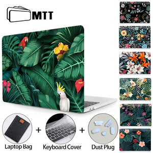 MTT Laptop Case For Macbook Air Pro 11 12 13 15 16 With Touch Bar for macbook air 13 2020 Funda Coque A2179 A2289 A1932 A1278