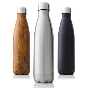 Heat-Thermos Vacuum-Flask Sport-Water-Bottles Double-Wall Stainless-Steel Insulated 750/1000ml