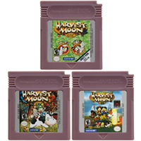 16 Bit Video Game Cartridge Console Card for Nintendo GBC Harvest Moon Series English Language Edition  image