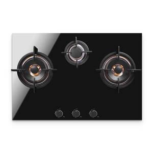 Stove Natural-Gas 220V 3-Hole Embedded Multi-Head Three-Eye Household European-Style