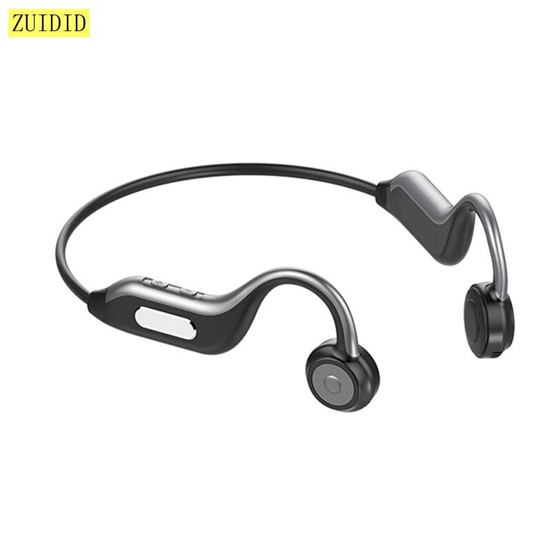 Беспроводные Bluetooth наушники B1 с костной проводимостью, стерео бас, встроенная карта памяти 8 Гб, наушники, водонепроницаемая Спортивная гарн...