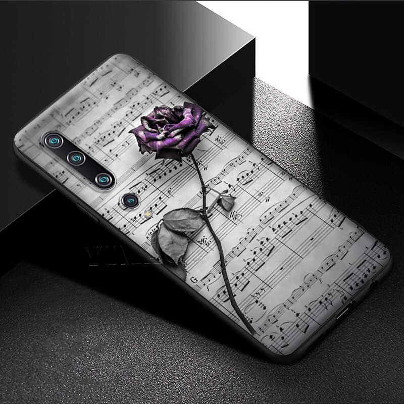 Yimaoc Muzieknoten Viool Klassieke Muziek Case Voor Xiao Mi Rode Mi Note 4 4x 4a 5 5a 6 8 8A Mi 9 10 8T Pro Plus