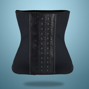 Image 5 - Latex waist trainer Slimming latex Belt cincher corset slimming modeling strap shapers body shaper slimming latex corset
