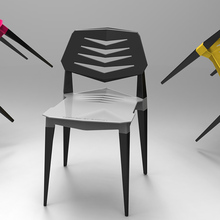Nordic INS Plastic Chair Restaurant Dining Office Meeting Modern Home Bedroom Learning Creative