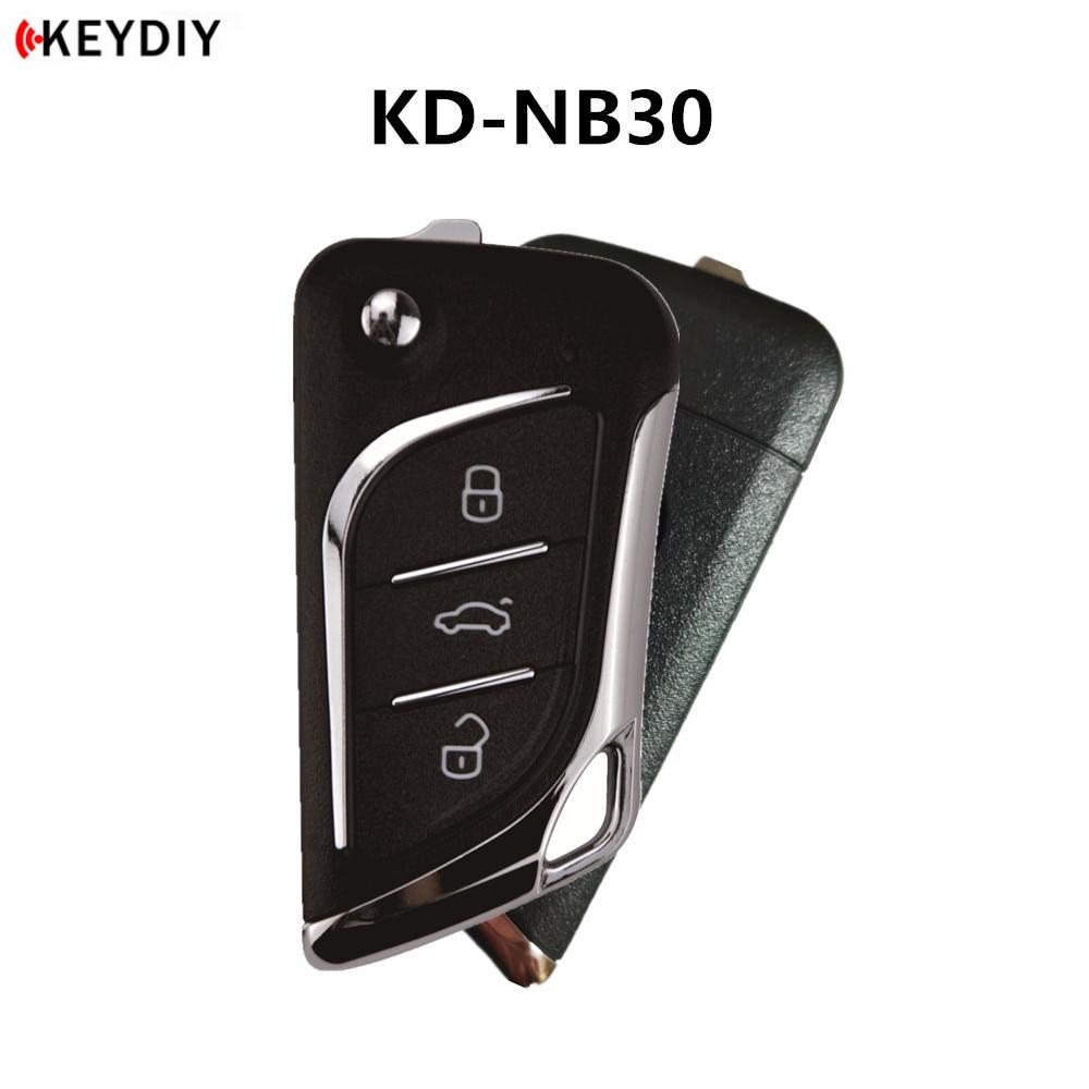 1/5/10 шт., KEYDIY KDMINI B30/NB30 пустой пульт дистанционного управления для автомобиля KD900/KD-X2/URG200 ключевой программатор серии B/NB пульт дистанционного ...