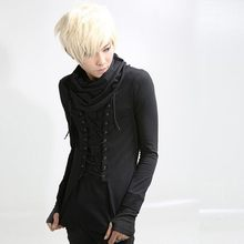 Harajuku Lace Up SLIM FIT Mens (China)