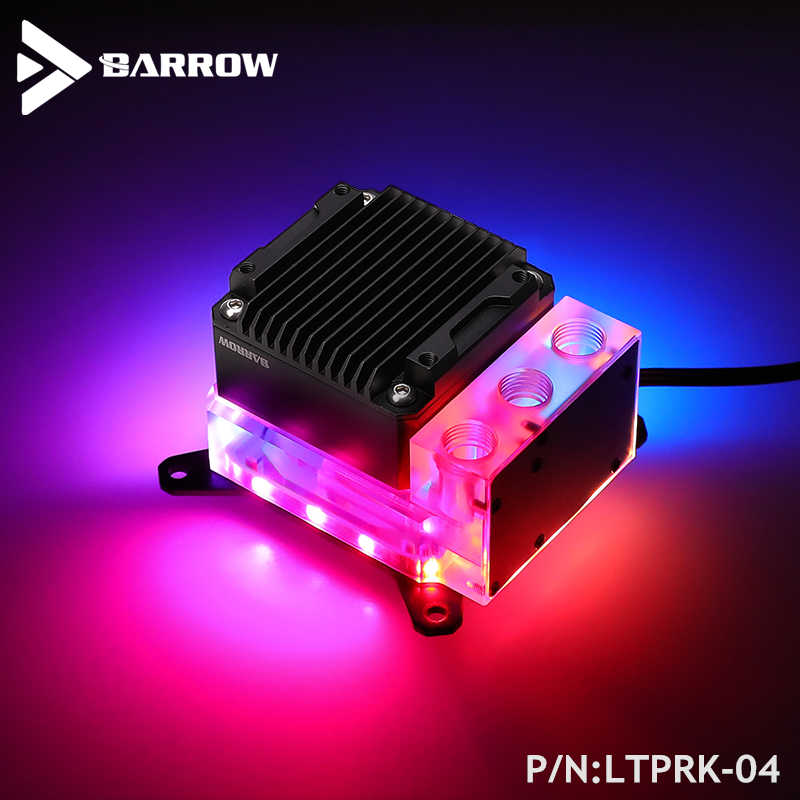 Barrow CPU Water Block Combo 17W PWM Pompa Per INTEL ,AMD AM3 AM4,X99 X299 Della Piattaforma, integrato Watercooler Kit , LTPRK-04