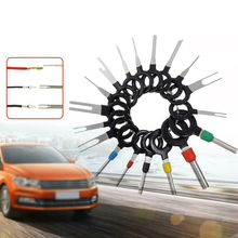 цена на 41PCS Car Plug Terminal Removal Tool Pin Needle Retractor Pick Electrical Wire Puller Hand Tools Kit
