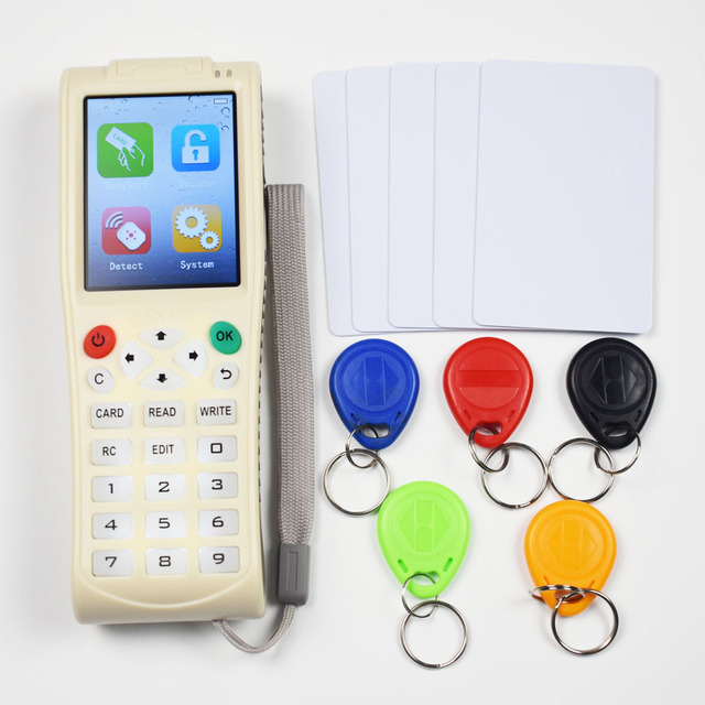 New Arrival iCopy8 Pro Icopy Full Decode Function Smart Card Key Machine RFID NFC Copier Reader Writer Duplicator