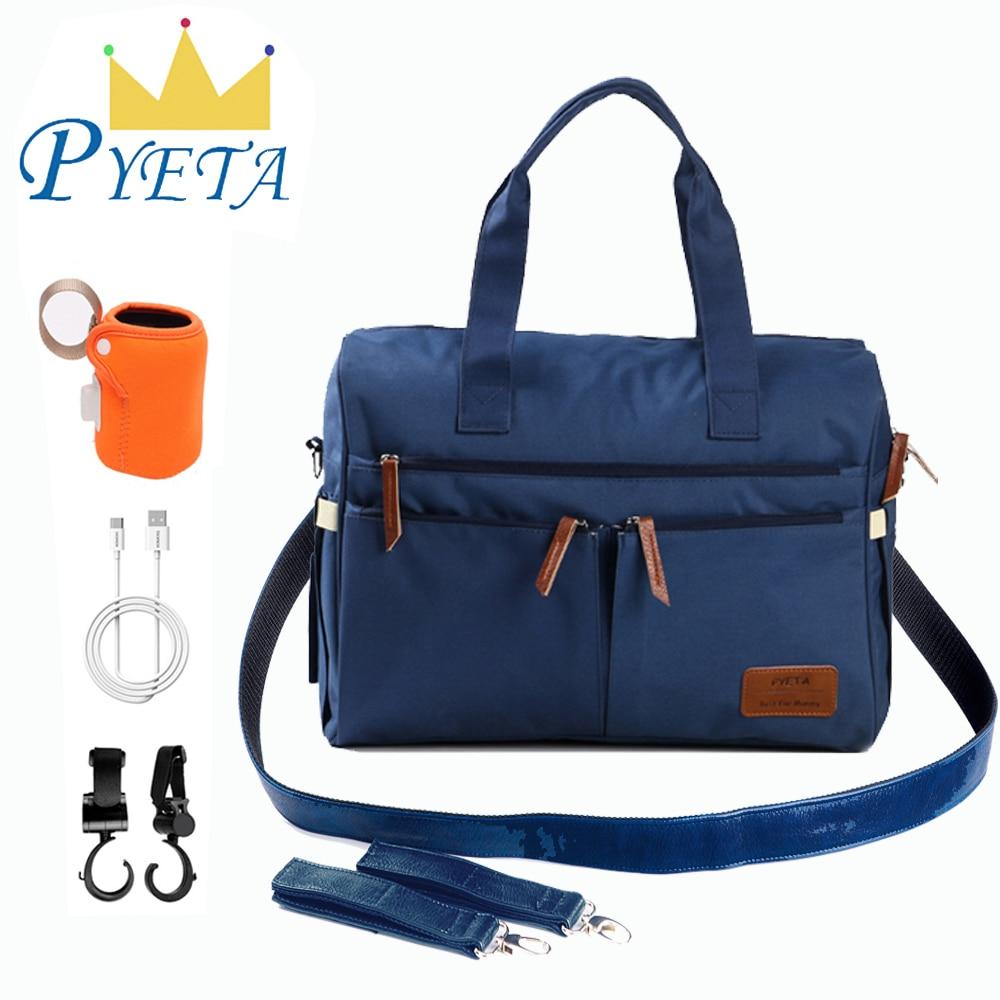 PYETA Baby Diaper Bags For Baby Stuff Accessory,Maternity Bag For Mom Travel Mommy Shoulder Bag,Nappy Bag Bolsa Maternidade