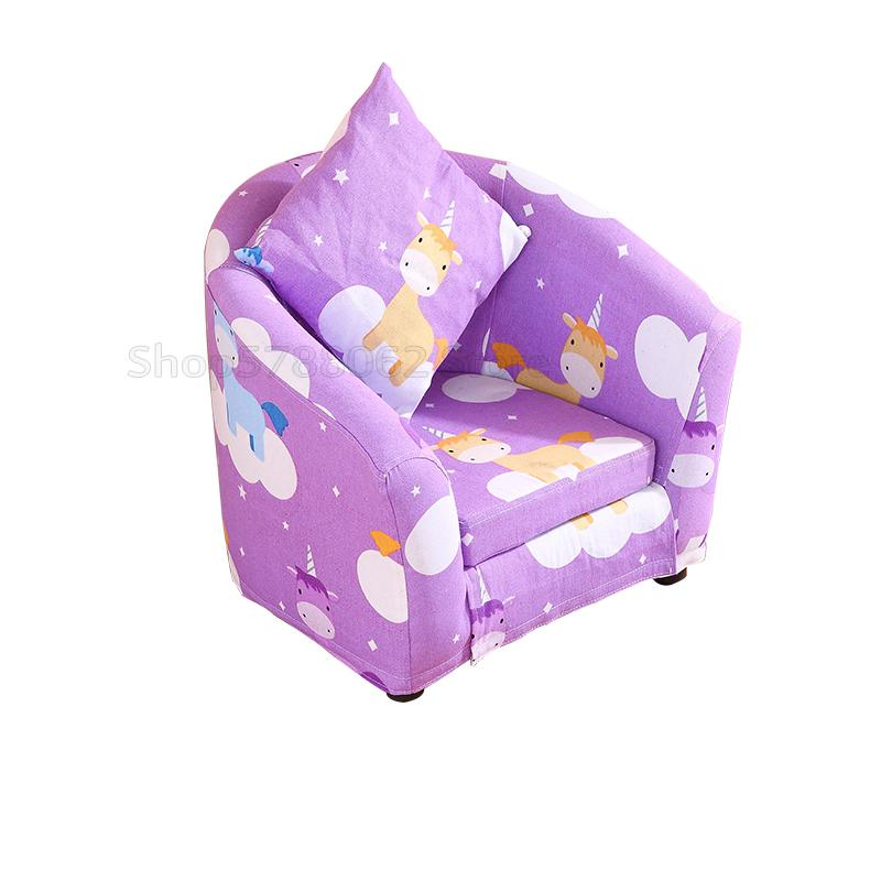 Childrens Sofa Cartoon Girl Princess Single Kindergarten -6628
