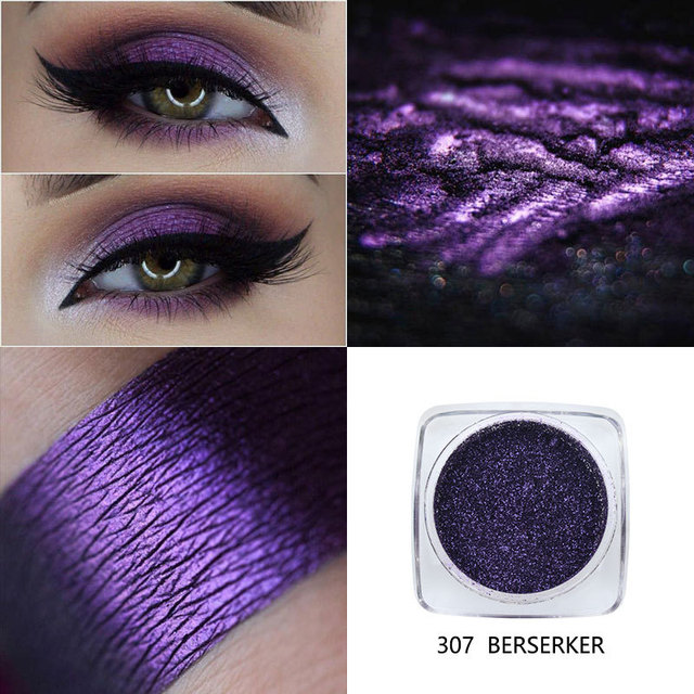 Phoera 12 Color Glitter Eyeshadow Long Lasting Eye Shiny Shadows Matte Makeup Palette Waterproof Easy To Color Pigment Eyeshadow 3