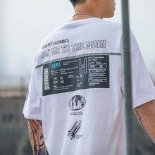 Летняя мужская футболка с короткими рукавами популярная в Европе и Америке брендовая Рубашка свободного кроя с коротким рукавом