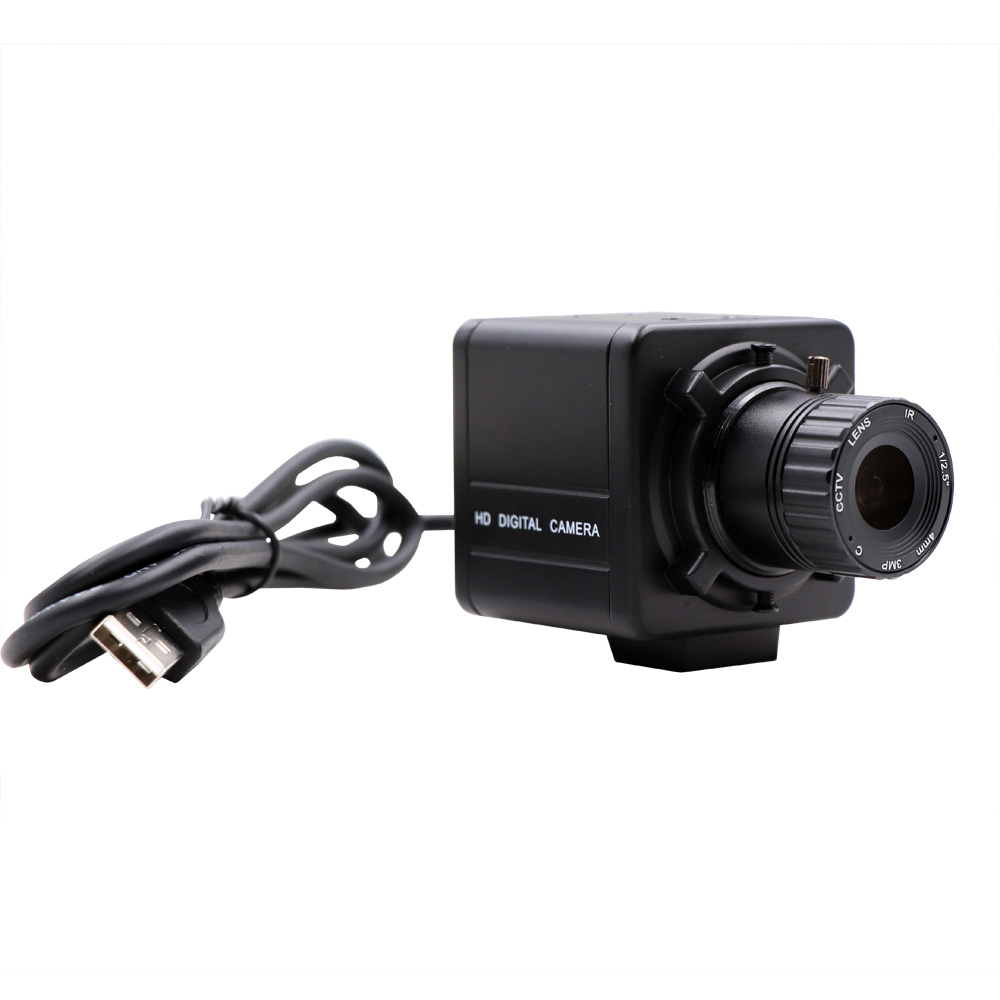 4K 3840x2160 Sony IMX377 UVC Plug Play CS Fixed Varifocal Zoom Webcam USB Camera for Live Teaching Video Conference image