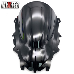 Image 3 - Motorcycle Racing Double Bubble Windshield WindScreen Visor Viser Deflector For YZF R3 V2 2019 2020 YZF R25 19 20 YZF R3 R25