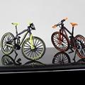 1:10 мини Литой Сплав модель велосипеда металлический гоночный палец горный велосипед карманный портативный симулятор Коллекция игрушек дл...