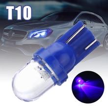 цена на Universal T10 LED W5W 158 168 194 501 12V Car LED Side Dashboard Wedge Light Bulbs Blue for Car Light Source