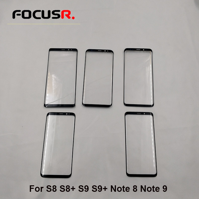 A+Replacement Outer Glass Lens For samsung S8 S8 Plus S9 S9 plus note 9 note 8 LCD Touch Screen Front Glass Panel lcd glass