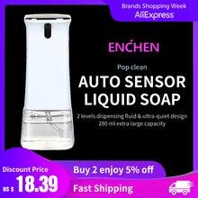 ENCHEN автоматический бесконтактный жидкий мыло дозатор с инфракрасным датчиком движения 280 мл пена мыло дозатор для ванной кухни