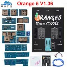 ECU 프로그래머 OEM 오렌지 5 새로운 V1.36 전체 어댑터 Orange5 Plus V1.35 전체 범용 프로그래머 Orange5 프로그래밍 장치