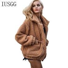все цены на Teddy Bear Jacket Women Faux Fur Coat Warm Winter Teddy Coat Thick Warm Fleece Jacket Fluffy Jackets Plus Size 3XL Overcoat онлайн