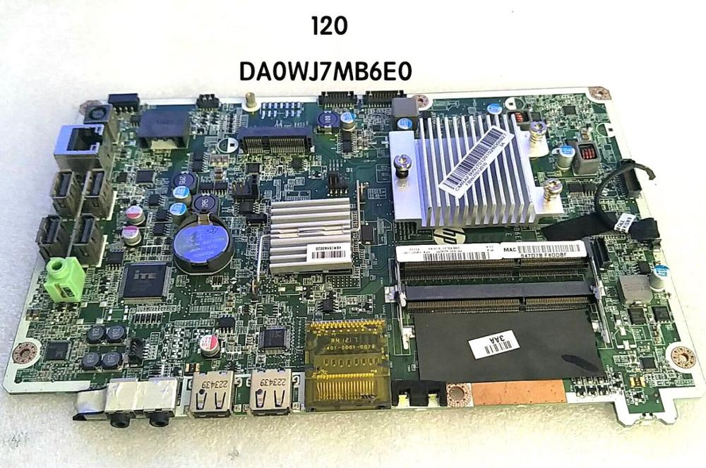 646907 001 For HP Omni 120 AIO Motherboard DA0WJ7MB6E0 Mainboard 100%tested fully work|Motherboards| |  - title=