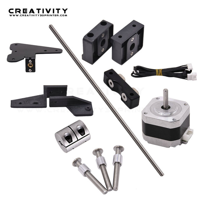 Dual Z Axis Lead Screw Upgrade Kits for Ender3 Ender3S CR10S CR10 3D Printer Accessories impressora 3d ender 3 pro dual z axis 2