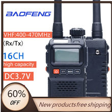 Oppxun walkie talkie baofeng UV-3RPlus banda dupla portátil rádio presunto UV-3R + amatuer handheld fm transceptor rádio em dois sentidos