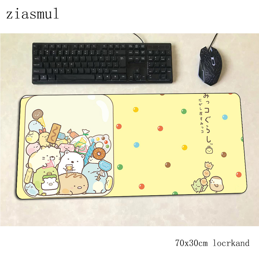 kawaii mouse pad Professional Computer mat 700x300x3mm gaming mousepad large Aestheticism padmouse keyboard games pc gamer desk(China)