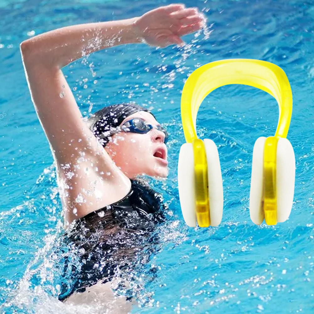 Water Sports Training Harmless Accessories Adult Kids Beginners Soft Silicone Outdoor Aid Nose Clip Swimming Waterproof Mini