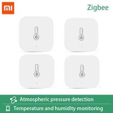 AQara Smart Temperatur Hu mi dity Sensor ZigBee Wifi Drahtlose Arbeit Mit smart home mi jia Mi hause App