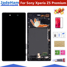 Original 5.5'' LCD For SONY Xperia Z5 Premium LCD Display Z5 PLUS E6853 E6883 Touch Screen Digitizer Screen for sony xperia z5 premium z5p e6853 e6883 e6833 digitizer touch screen assembly lcd display with frame middle bezel rear