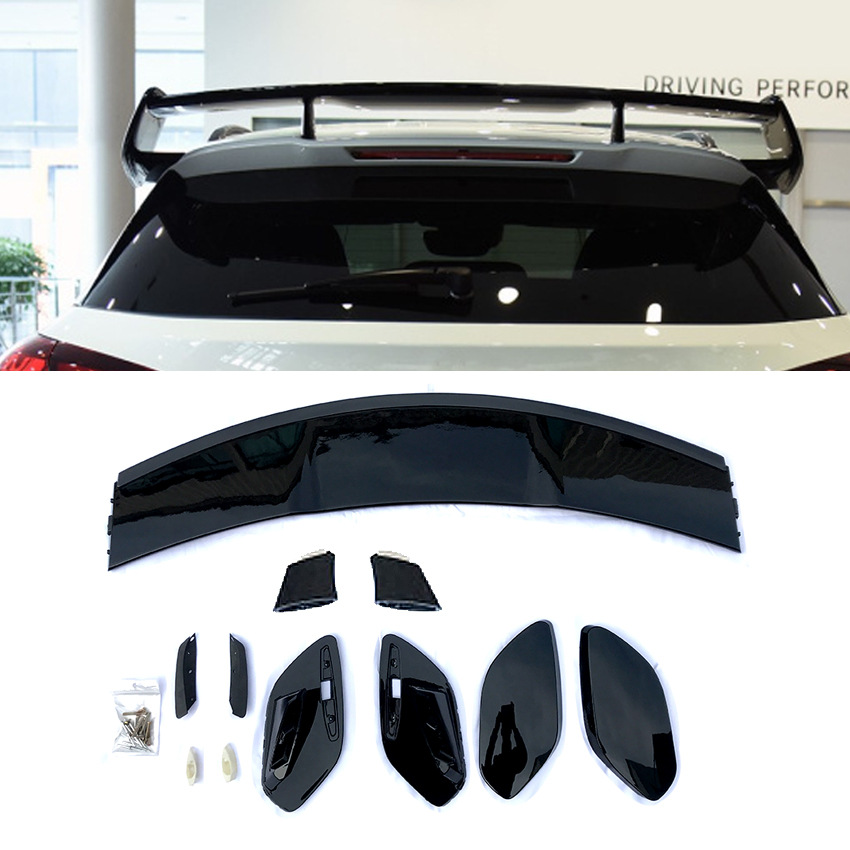 Rear Trunk Spoiler Wing for <font><b>Mercedes</b></font> X156 <font><b>GLA</b></font>-Class GLA250/<font><b>45</b></font> <font><b>AMG</b></font> AA +Bolts Set image