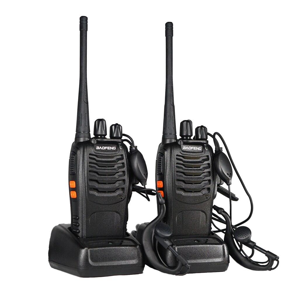 2pcs Baofeng BF 888s Walkie Talkie Wholesale Two Way Radio BF-888S Portable Cb Ham Radio Station Wireless Fm Hf Transceiver
