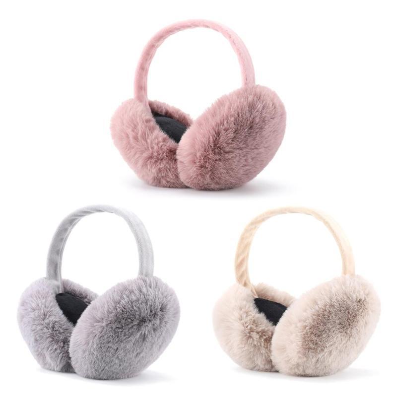 Hot Sale Headband Multi-function Winter Earmuffs Women Men Ear Warmer Plush Soft Headband Student Unisex Ear Muff