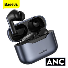 Baseus-auriculares inalámbricos S1 Pro con Bluetooth 5,1, dispositivo de audio ANC, con cancelación de ruido, SBC, AAC, TWS