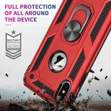 Shockproof Case For iPhone 11 Pro Max X XS XR  Kickstand Military Grade Cover 6 6s 7 8 Plus 5 5s SE Phone Coque