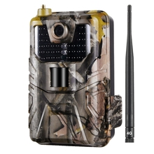 Hc-900Lte 4G Hunting Camera 16Mp Trail Camera 940Nm Photo Traps 0.3S Mms/Sms/Smtp/Ftp Wild Camera 44Led Hunter Camera Outdoor Ip